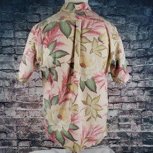 reyn spooner Shirts - Reyn Spooner 3/4 Button Aloha Shirt Medium